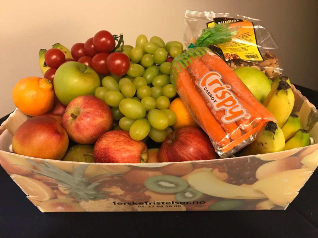 Fruktkurv luksus 9kg
